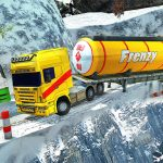 Extreme Winter Oil Tanker Truck Drive