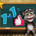 Talking Tom Math Test